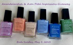 AVON Limited Edition Petals Impression Collection